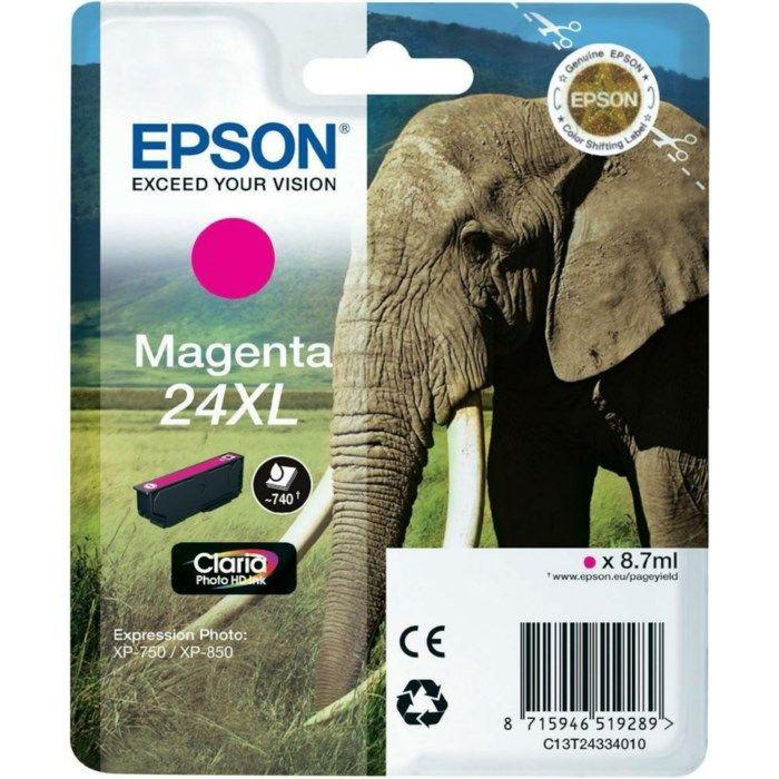 Epson T2433 Bläckpatron XL Magenta