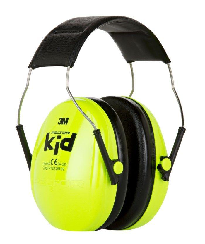 3M Peltor Kid Hörselskydd för barn Grön