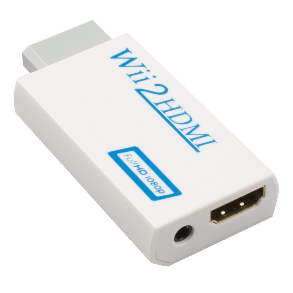 HDMI-adapter for Nintendo Wii
