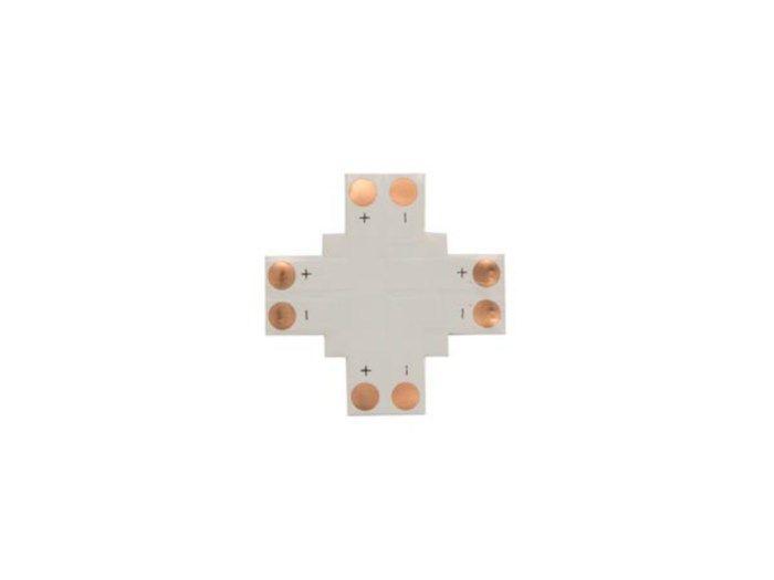 Velleman PCB-skarv typ  för 10 mm LED-slinga. PCB-skarv för LED-slinga