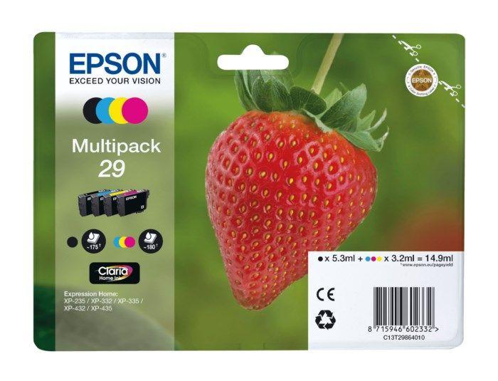 Epson T29 Bläckpatron 4-pack