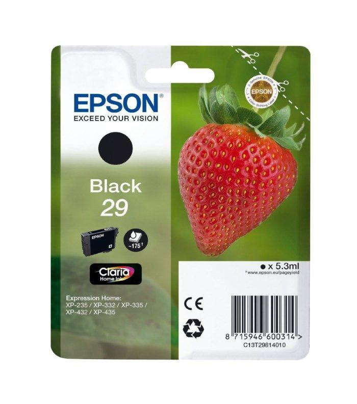 Epson T2981 Bläckpatron Svart