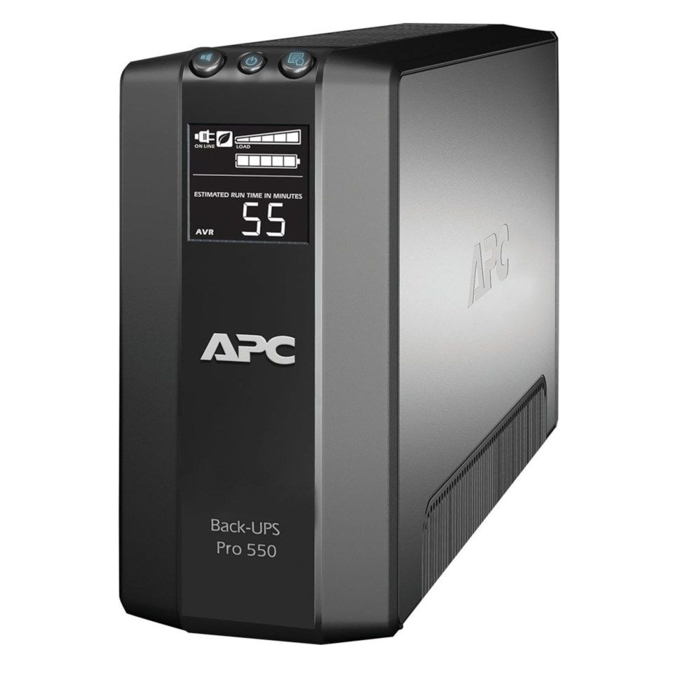 APC Back-UPS RS LCD 550 Master Control