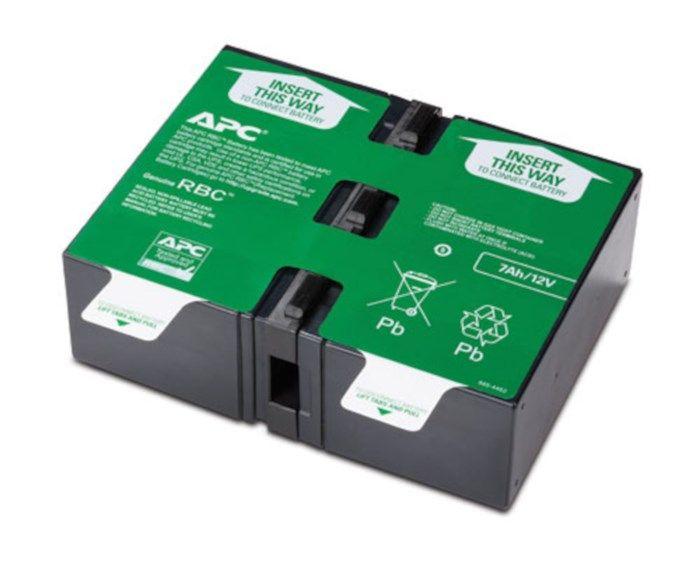 APC Utbytesbatteri #123 - 2x12 V 7 Ah