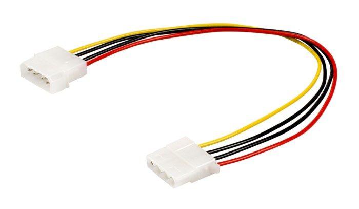 Förlängningskabel 4-pin Molex