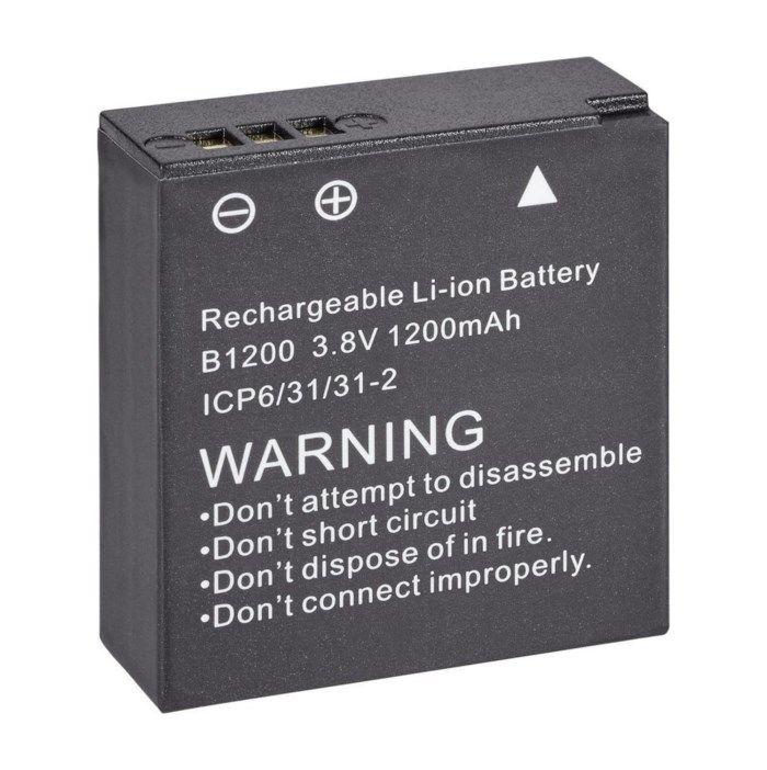 Batteri för actionkamera