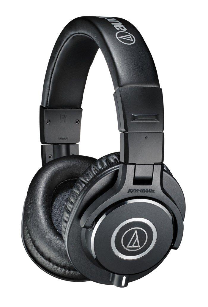 Audio Technica ATH-M40x Hörlurar. Hörlurar med vändbara lurar