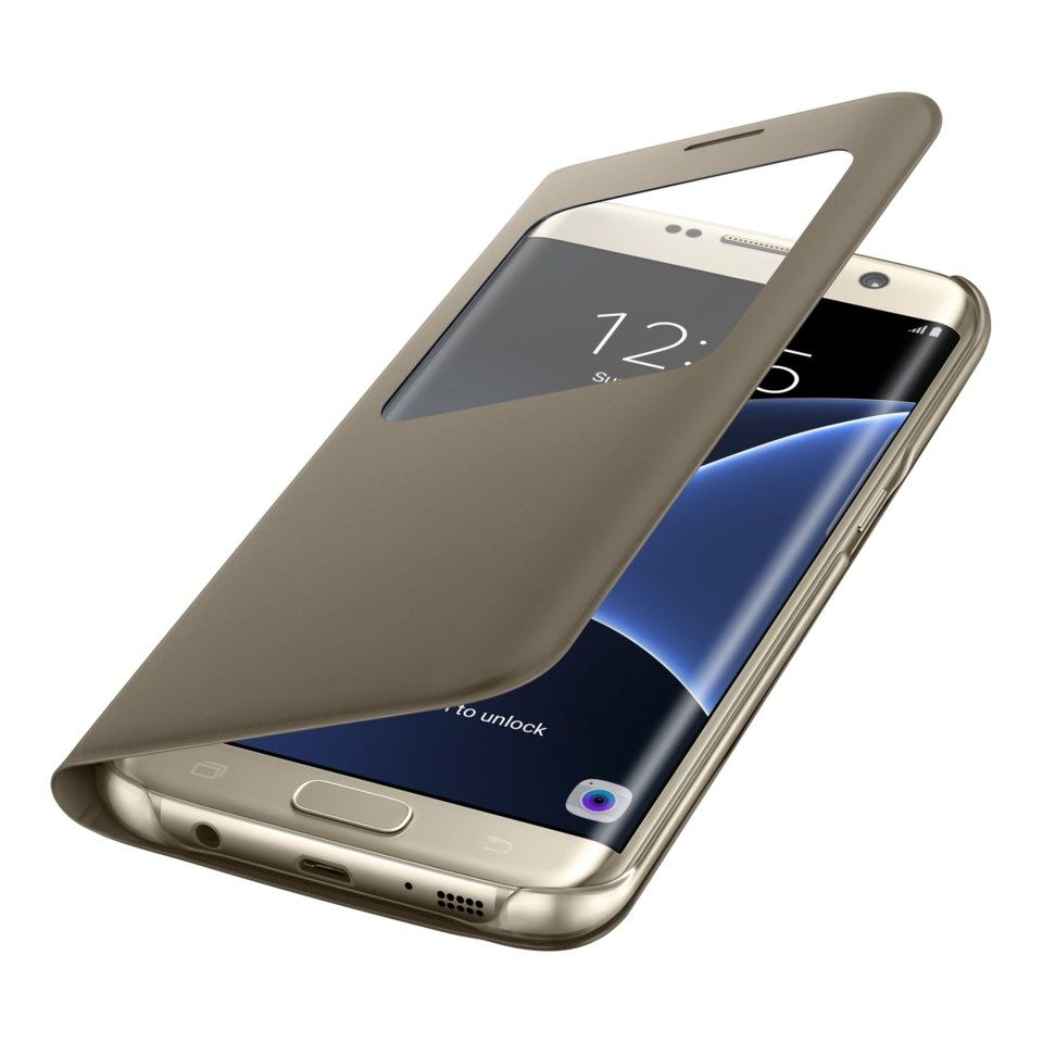 Samsung S-view mobiletui for Galaxy S7 Edge Gull