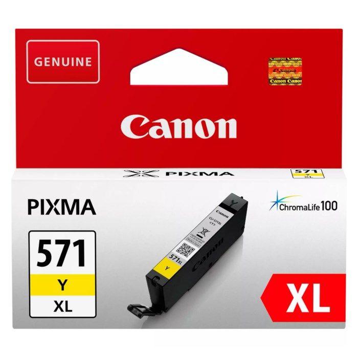 Canon CLI-571 XL Bläckpatron Gul