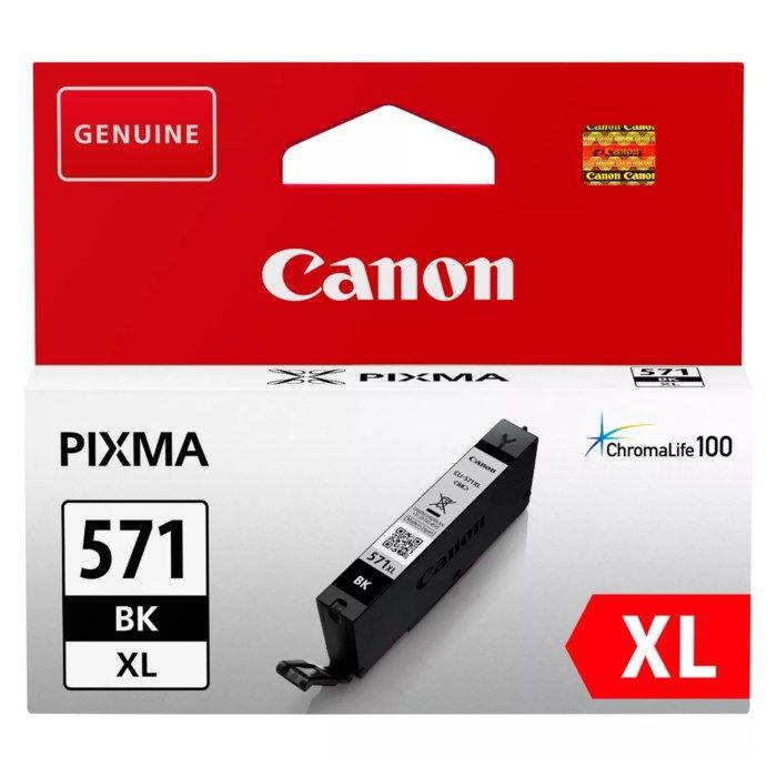Canon CLI-571 XL Bläckpatron Svart
