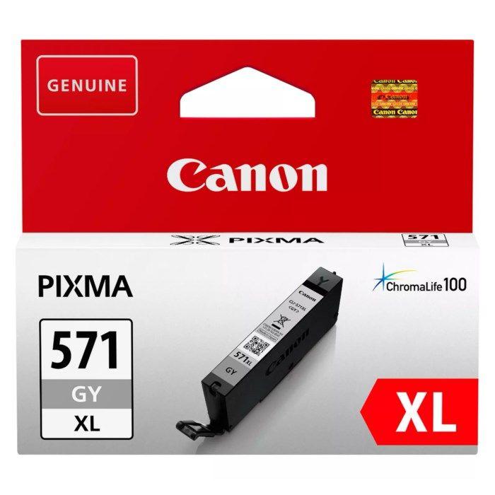 Canon CLI-571 XL Bläckpatron Grå