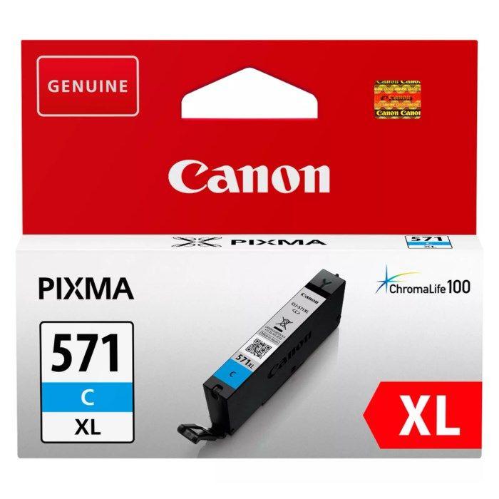 Canon CLI-571 XL Bläckpatron Cyan