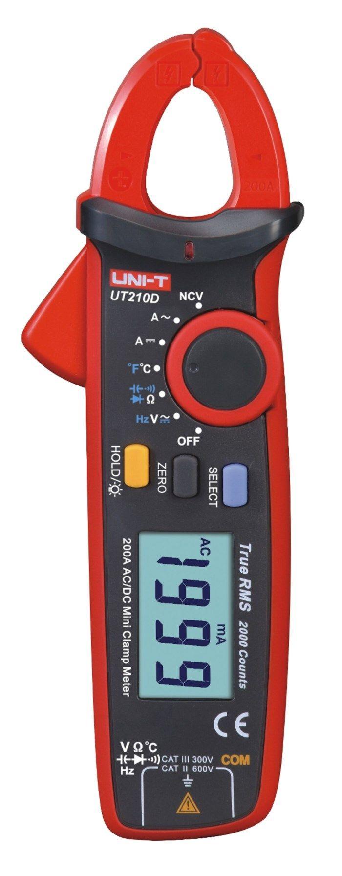 Uni-T UT210D Tångmultimeter AC/DC 200 A