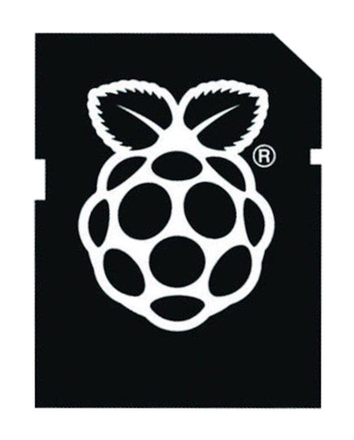 Förinstallerat minneskort till Raspberry Pi