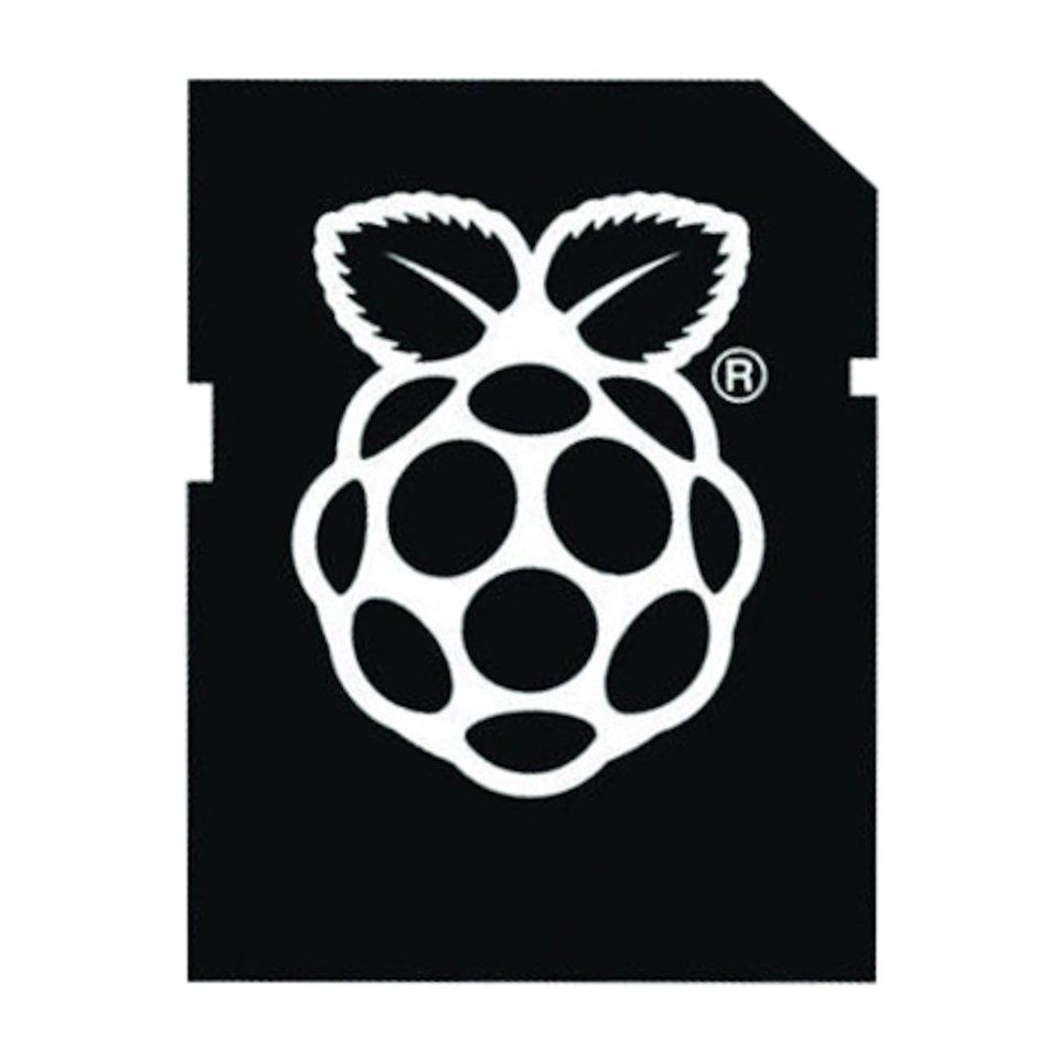 Forhåndsinstallert minnekort for Raspberry Pi