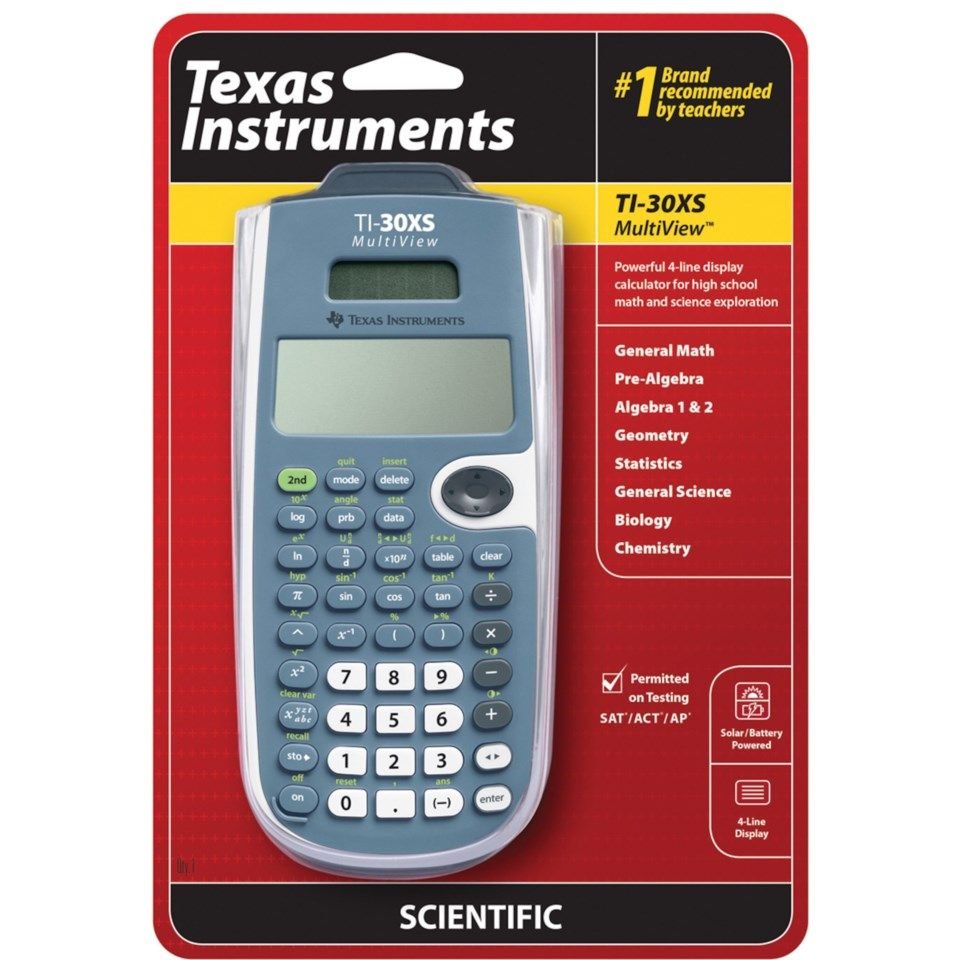 Texas Instruments TI-30XS kalkulator