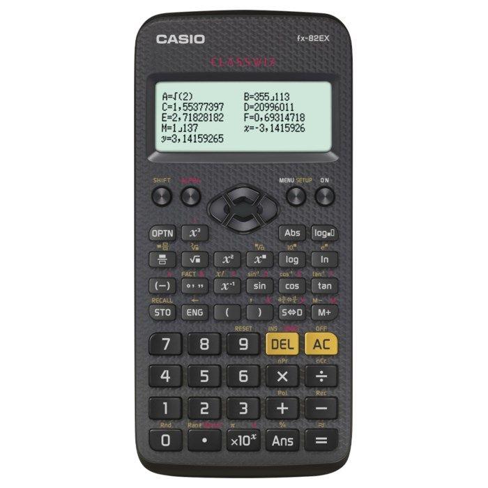 Casio FX-82EX Teknisk räknare