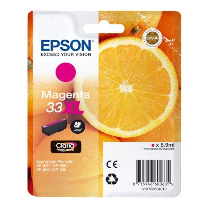 Epson T3363 Bläckpatron Magenta XL