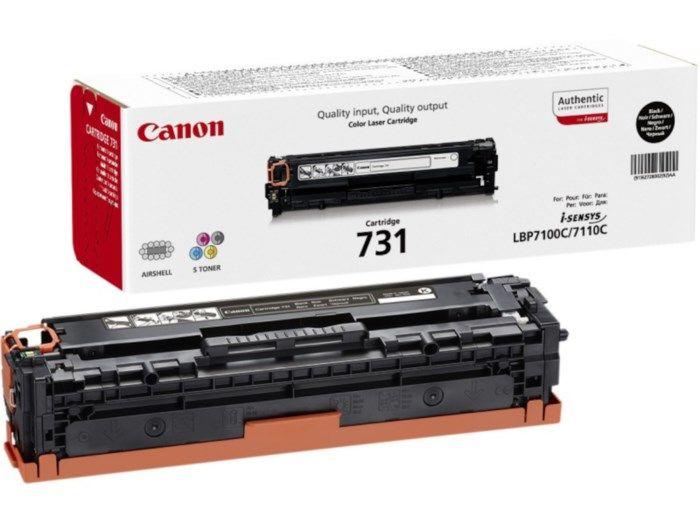 Canon Toner 731 Svart