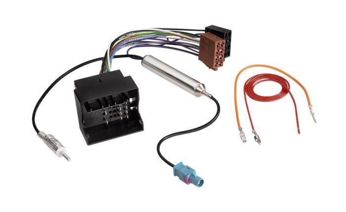 ISO-adapter Audi, Seat, Skoda och VW med Quadlock