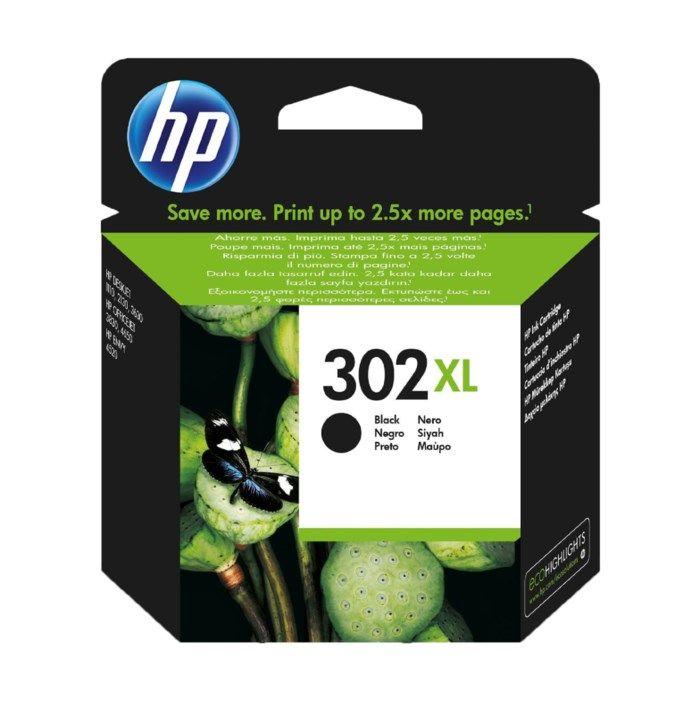 HP 302XL Bläckpatron Svart