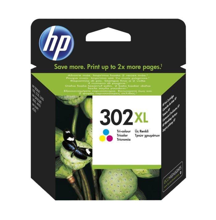 HP 302XL Bläckpatron Flera färger
