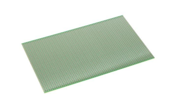 Experimentkort FR4 100x160 mm Banor
