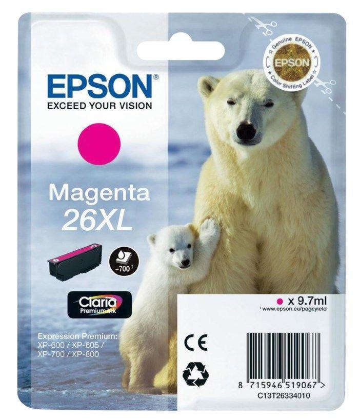 Epson T2633 XL Bläckpatron Magenta