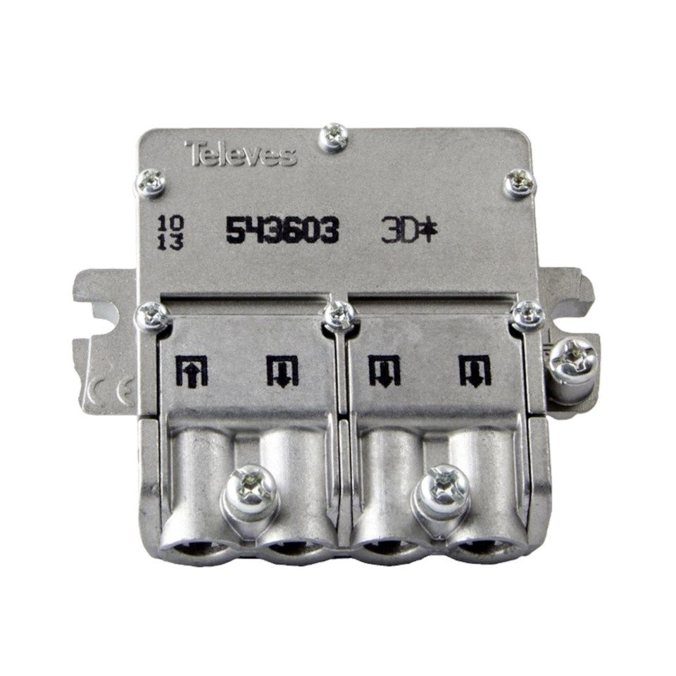 Televes Easy-F mini F-splitter 3-veis