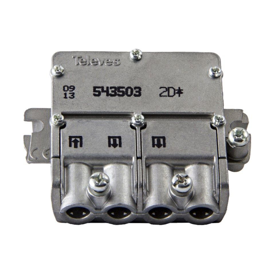 Televes Easy-F mini F-splitter 2-veis
