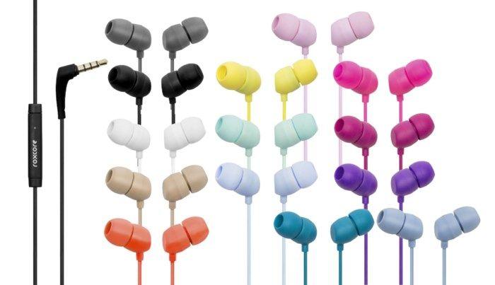 Roxcore Bullets V3 Headset Svart