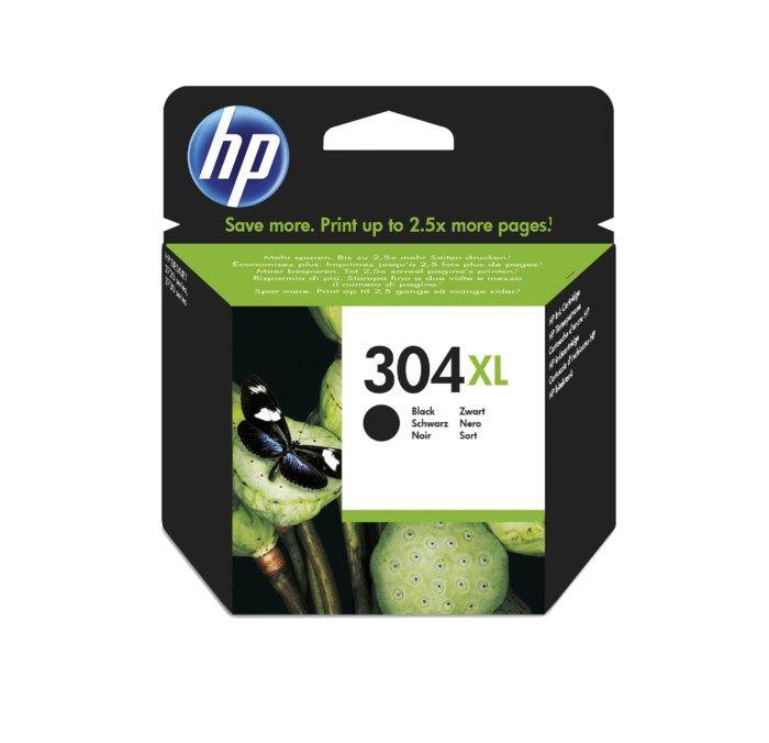 HP 304XL Bläckpatron Svart