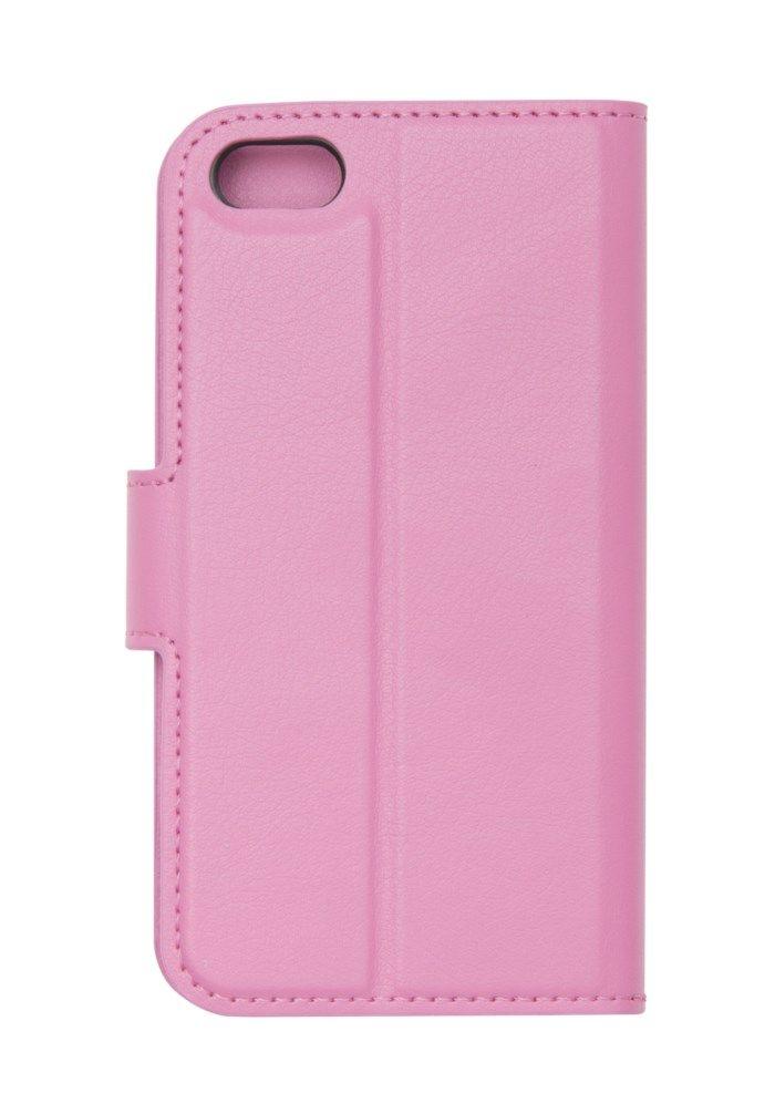 Linocell Tunn mobilplånbok för iPhone 5 5s och SE (2016) Rosa