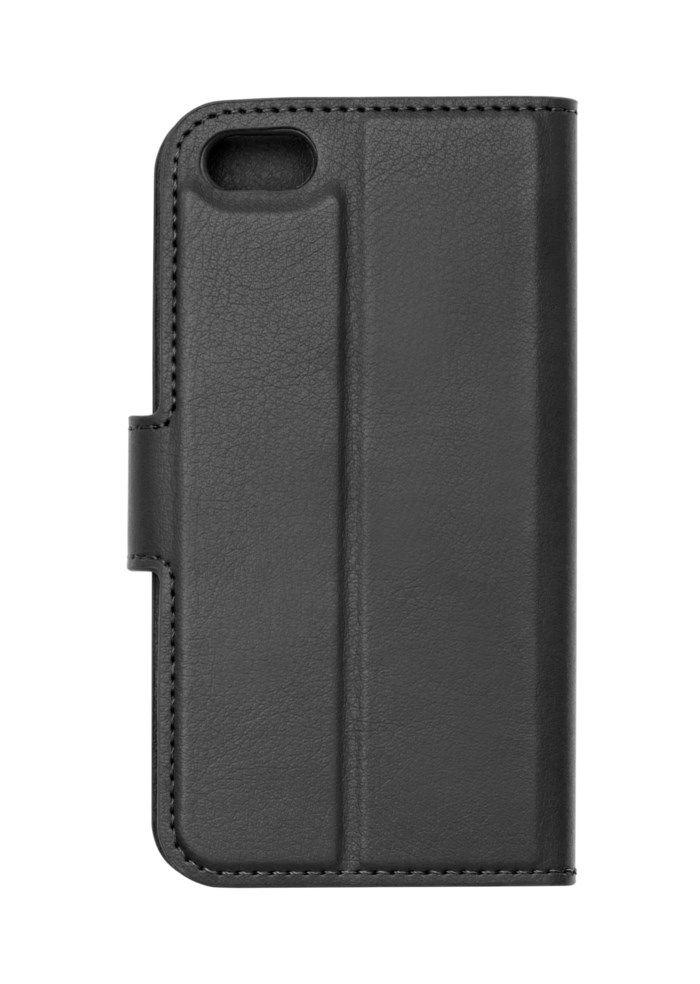 Linocell Tunn mobilplånbok för iPhone 5 5s och SE (2016) Svart