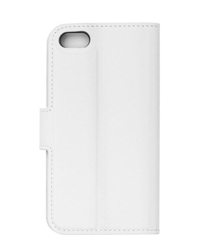 Linocell Tunn mobilplånbok för iPhone 5 5s och SE (2016) Vit