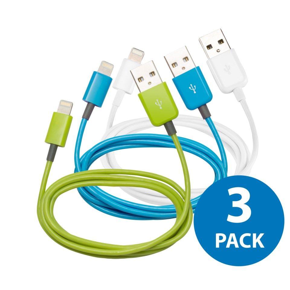 Köp Linocell 2 pack iPad och iPhone laddare med Lightning