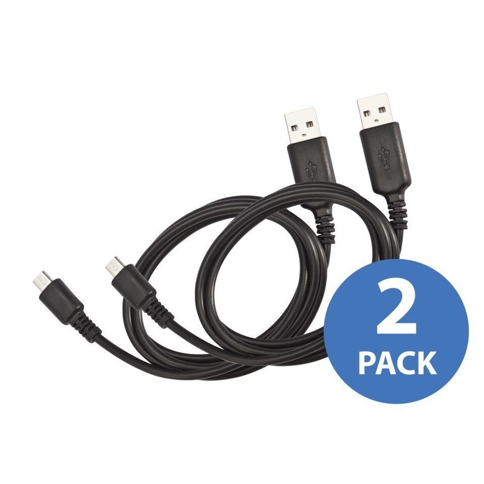 Linocell 2-pack Micro-USB-kabel