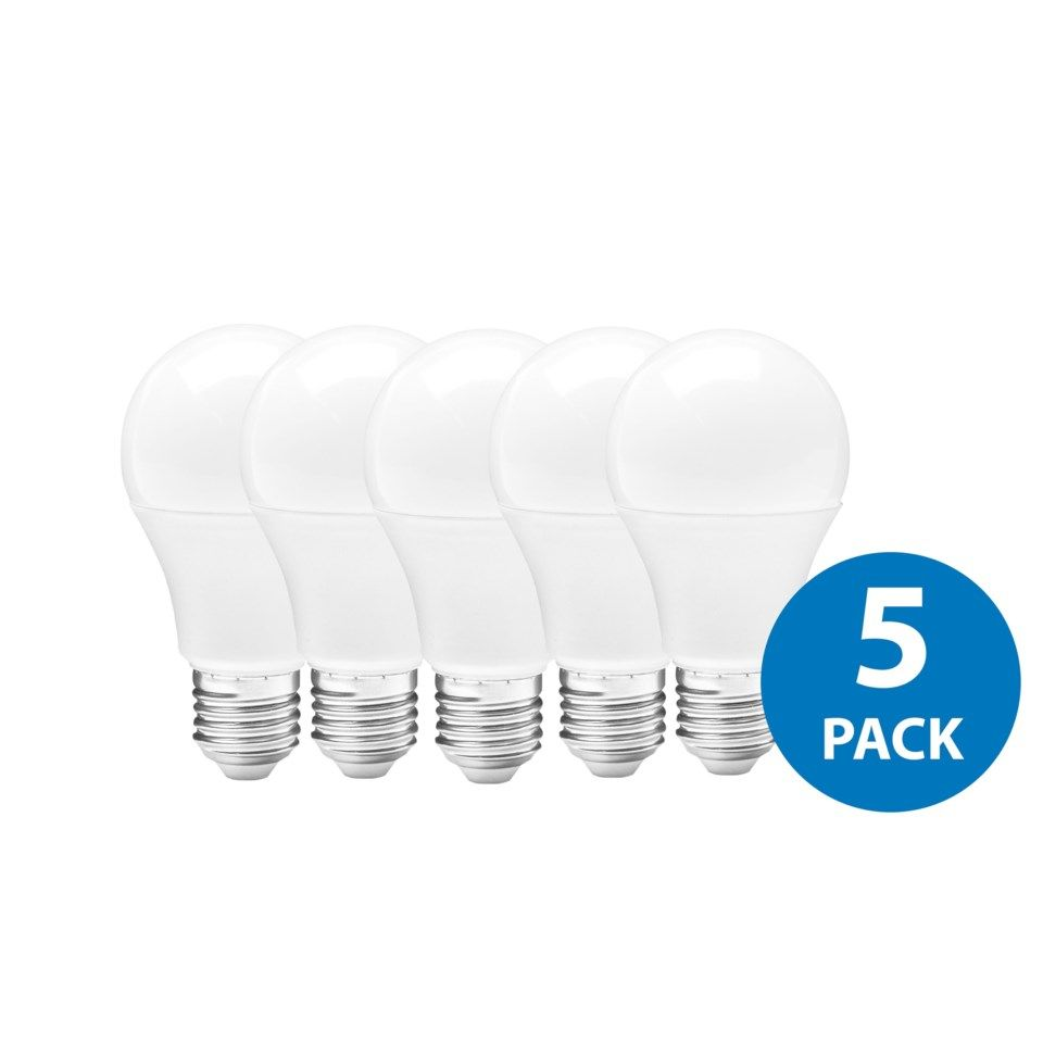 Ledsavers LED-lampa E27 470 lm 5-pack