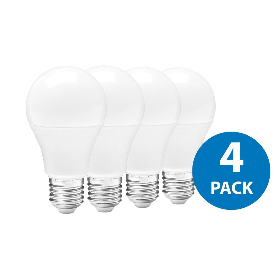Ledsavers LED-lampa E27 806 lm 4-pack