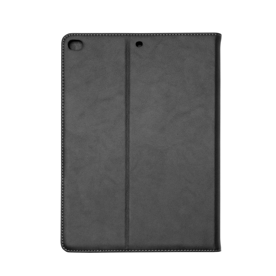 Linocell Leather Case etui for iPad Air 2 Svart