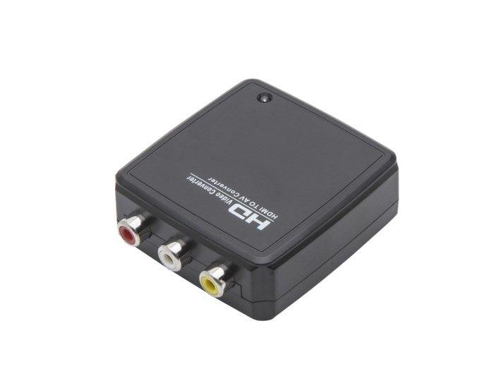 Adapter HDMI till komposit med ljud