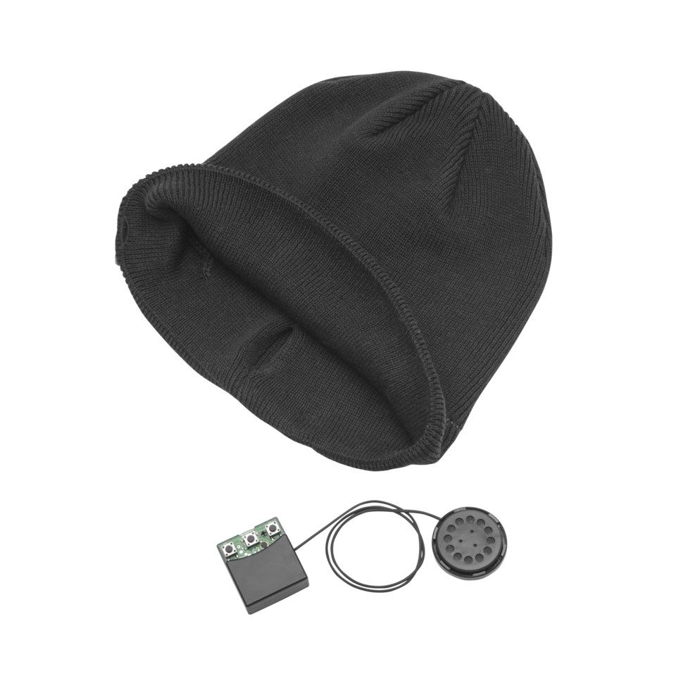 Roxcore Beanie Lue med innebygd Bluetooth-headset