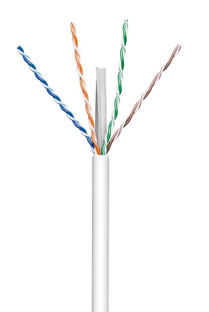 Luxorparts Solid UTP-nätverkskabel Cat.6 10 m