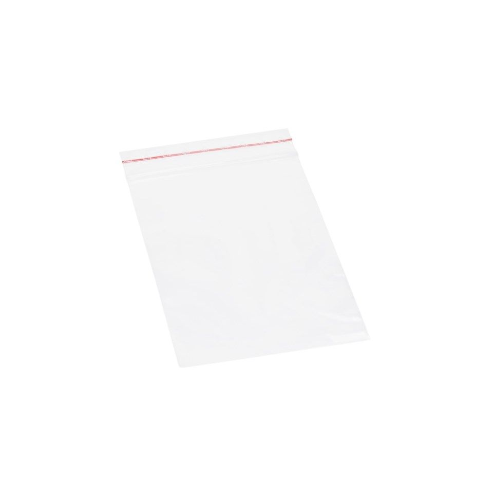Luxorparts Zip-påse 70x100 mm 100-pack