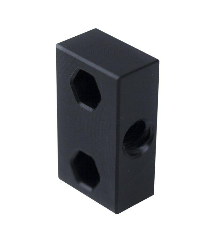 Ratrig Adapterplatta för trapetskruv Horisontell