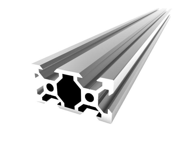 Ratrig Aluminiumprofil 20x40 mm 50 cm