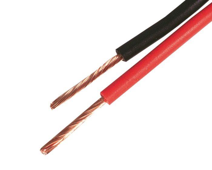 RKUB Lågspänningskabel 25 mm² Svart