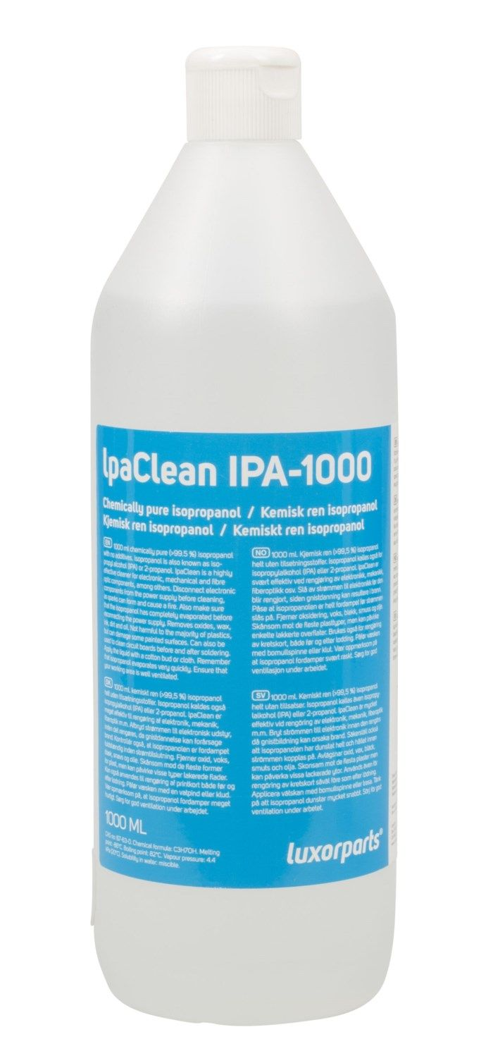 Luxorparts IpaClean isopropanol 1000 ml