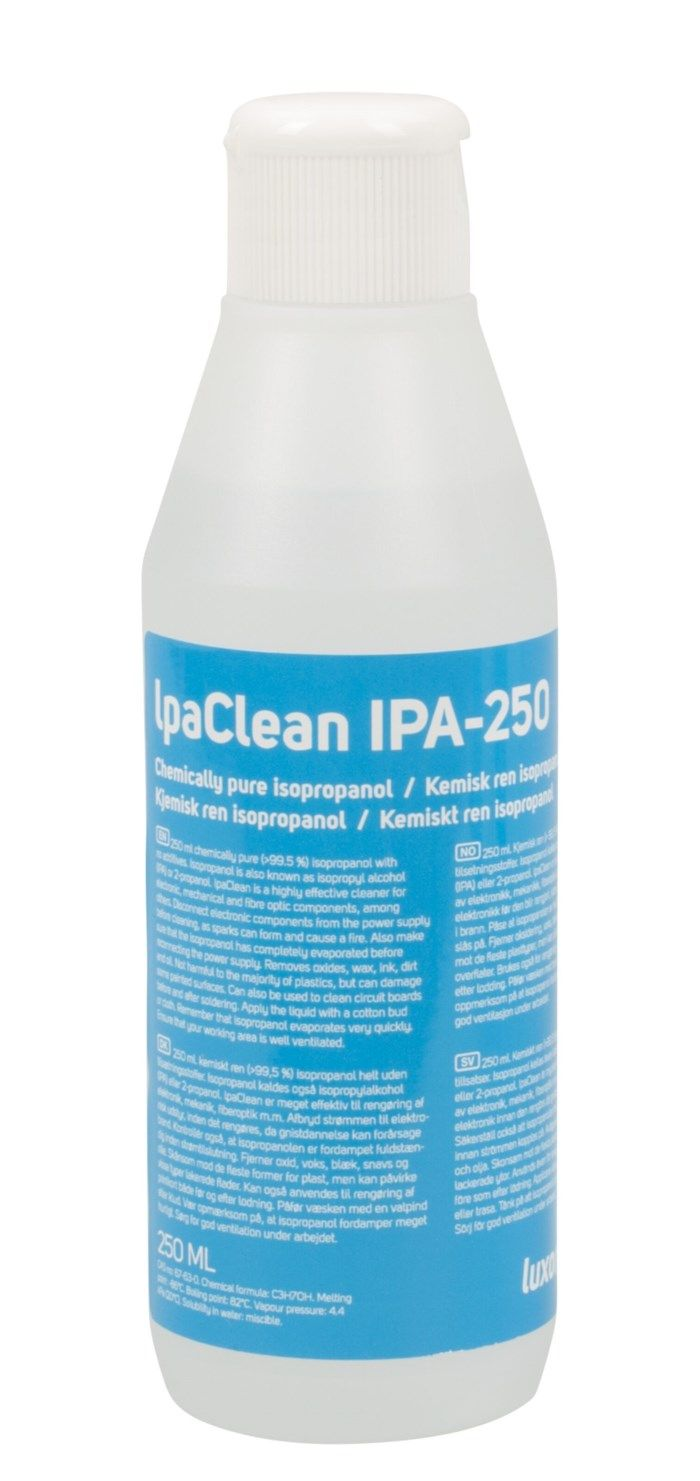 Luxorparts IpaClean isopropanol 250 ml
