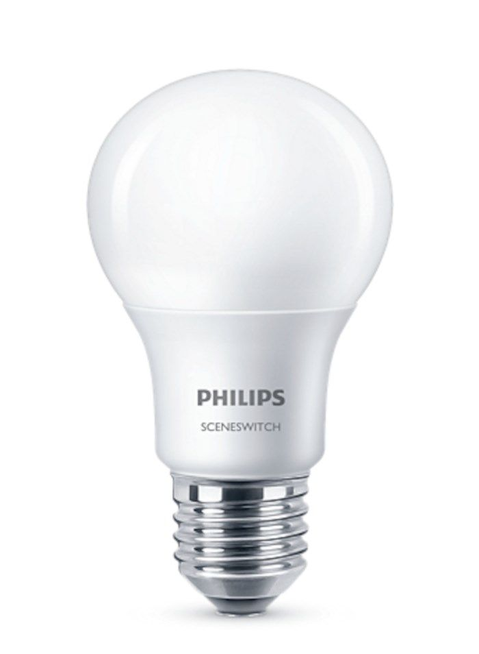 Philips Sceneswitch LED-lampa E27 806 lm